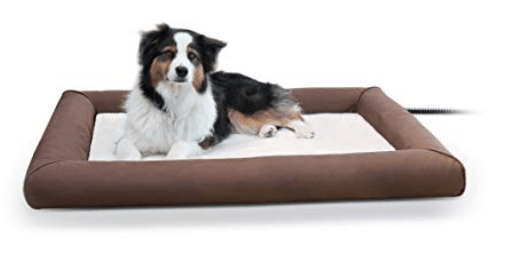 dog bed with bolster