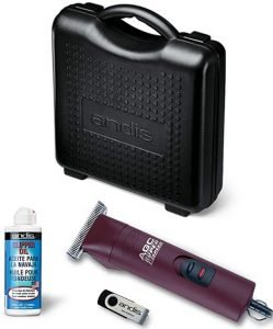 carry case for the AGC Andis dog clippers